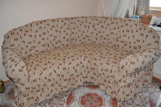 Как самой сшить чехол на диван угловой