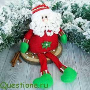 Как сделать большую новогоднюю игрушку своими руками в школу?