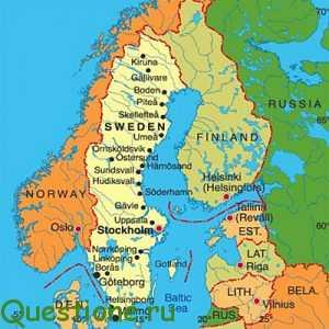 Какие страны входят в Скандинавию?