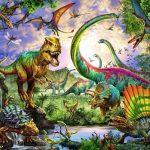 В какую эру жили динозавры?