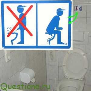 Как пользоваться туалетом