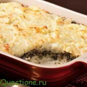 Как сделать картофельную запеканку?