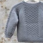 Как связать свитер ребенку?