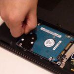 Как установить новый жесткий диск?