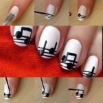 Как красиво сделать рисунок на ногтях?