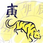 В каких годах был год тигра?