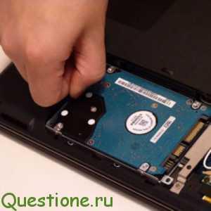 Как заменить жесткий диск в ноутбуке?