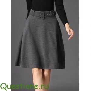 Как сшить юбку трапецию?