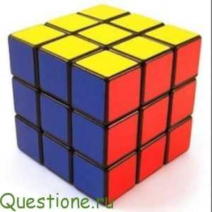 Как собрать кубик-рубика?