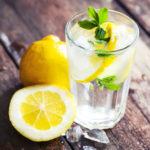 Как пить воду с лимоном?