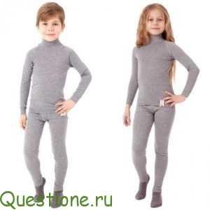 Как правильно выбрать детское термобелье?