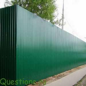 Как применяют и делают строительный профнастил?