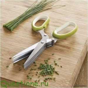 Какие есть кухонные ножницы?