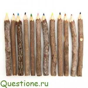 Как делают деревянные карандаши?