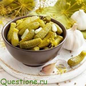 Как выбрать огурцы для консервирования?