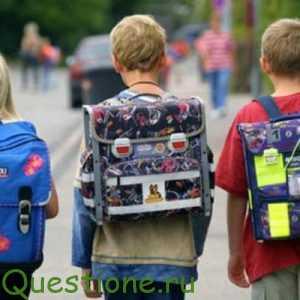 По каким параметрам следует выбирать ранец для ученика школы?