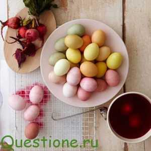Какие есть способы окрашивания яиц природными красителями?