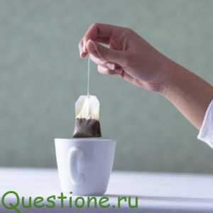 Из чего производят пакетированный чай?