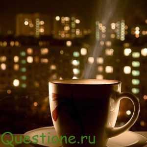 Когда лучше пить кофе, чай с мятой и воду?