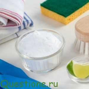 Что помогает удалять грязь с посуды, зеркал, кафеля, если нет в доме бытовой химии?