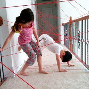 Как развлечь детей и внуков на даче?
