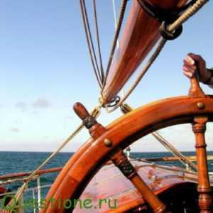 Как называется руль на корабле?