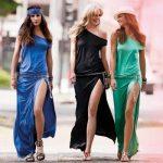 Какую обувь надеть с длинным платьем?