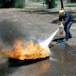 Как работают порошковые огнетушители?