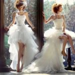 Как выбрать самое модное короткое свадебное платье?