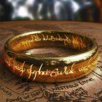 Что написано на кольце всевластия