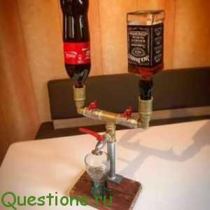 Как делают виски-колу, которая продаётся в магазине ?