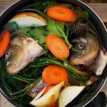 С какими овощами потушить морскую рыбу?