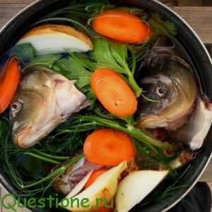 С какими овощами потушить морскую рыбу