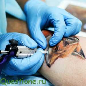 Как тату мастер делает татуировки?