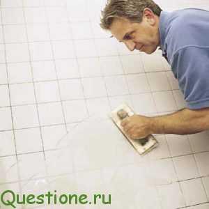 Какая затирка для плитки в ванной лучше?