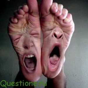 Почему ночью болят ноги?