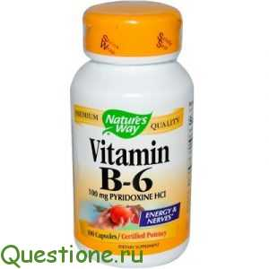 Витамин в6 для чего нужен организму, инструкция по применению?