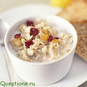 Почему мы едим кашу на завтрак?
