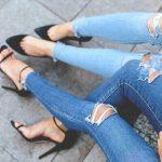 Из какого материала джинсы?