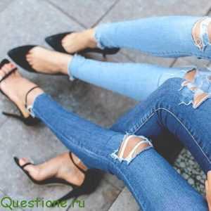 из какого материала делают джинсы