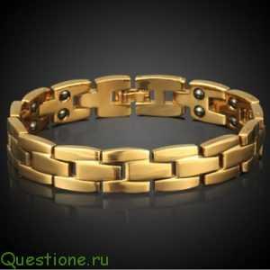 Кому подходит золотой мужской браслет