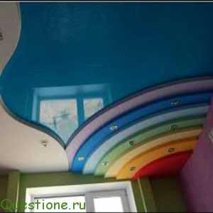 Выбираем натяжной потолок для детской – тканевой или все же ПВХ?