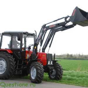 Погрузчик на трактор как выглядит?