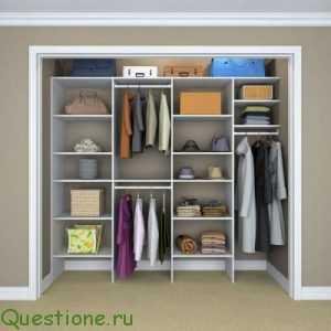 Какие преимущества у встраиваемых шкафов