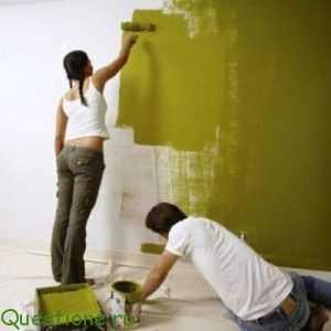 Какие краски используются сегодня при ремонте квартиры или дома?