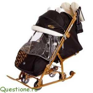 С какого возраста можно санки коляску?