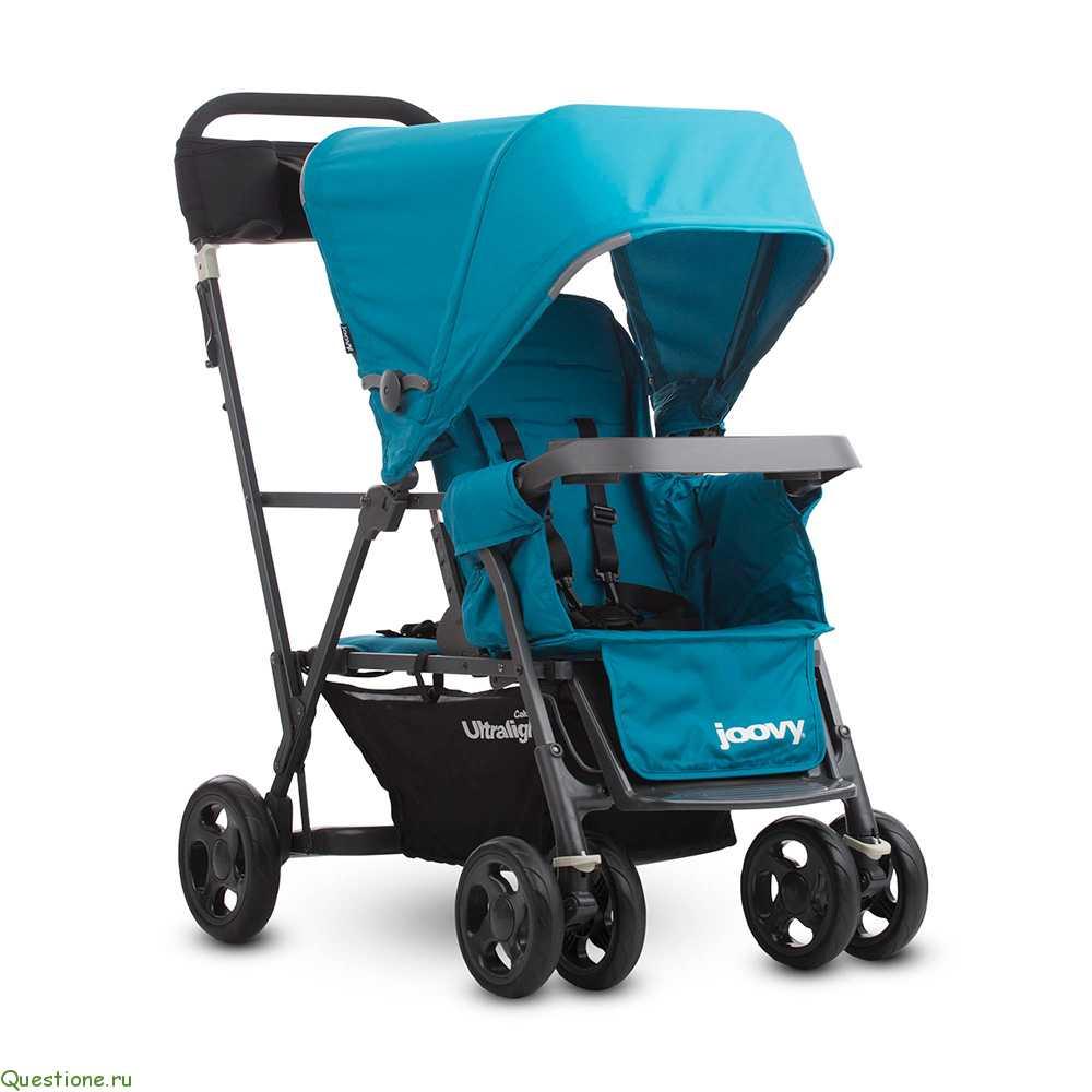 Прогулочная коляска для детей погодок