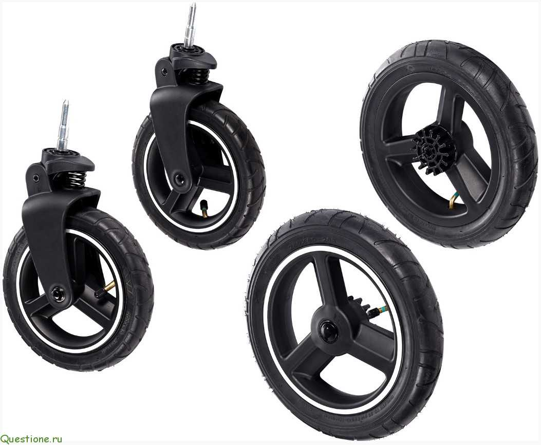 Надувные колеса на раме с  поворотными колесами