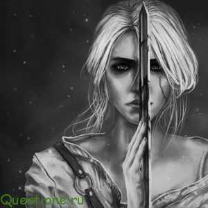 Почему в ведьмаке две Цири?