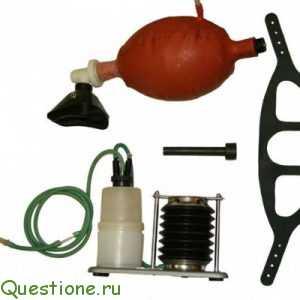 Как сделать аппарат искусственной вентиляции легких?
